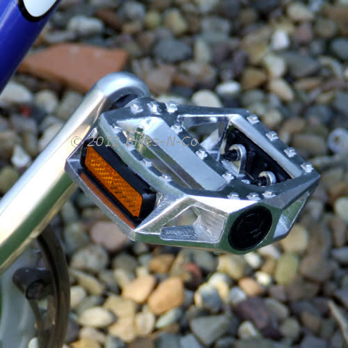 Alloy Platform Pedals 9/16 - Black or Alloy Finish - Click Image to Close