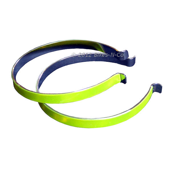 Hi-Viz Oxford cycle clips for trousers