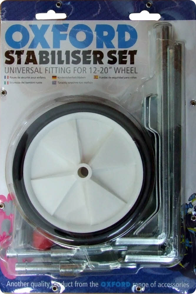 Universal Stabiliser Set For 12 To 20 Inch Wheel Bikes