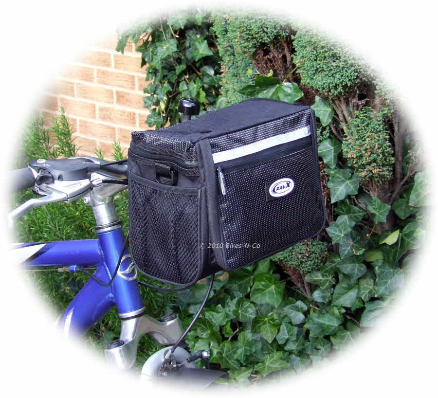 Handlebar Mounted Front Bag from RavX - Click Image to Close