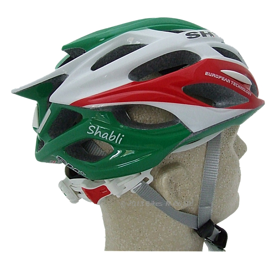 SH+ Bike Helmet, Shabli Stripes
