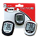 RavX Tactix-1 12 Function Waterproof Cycling Computer