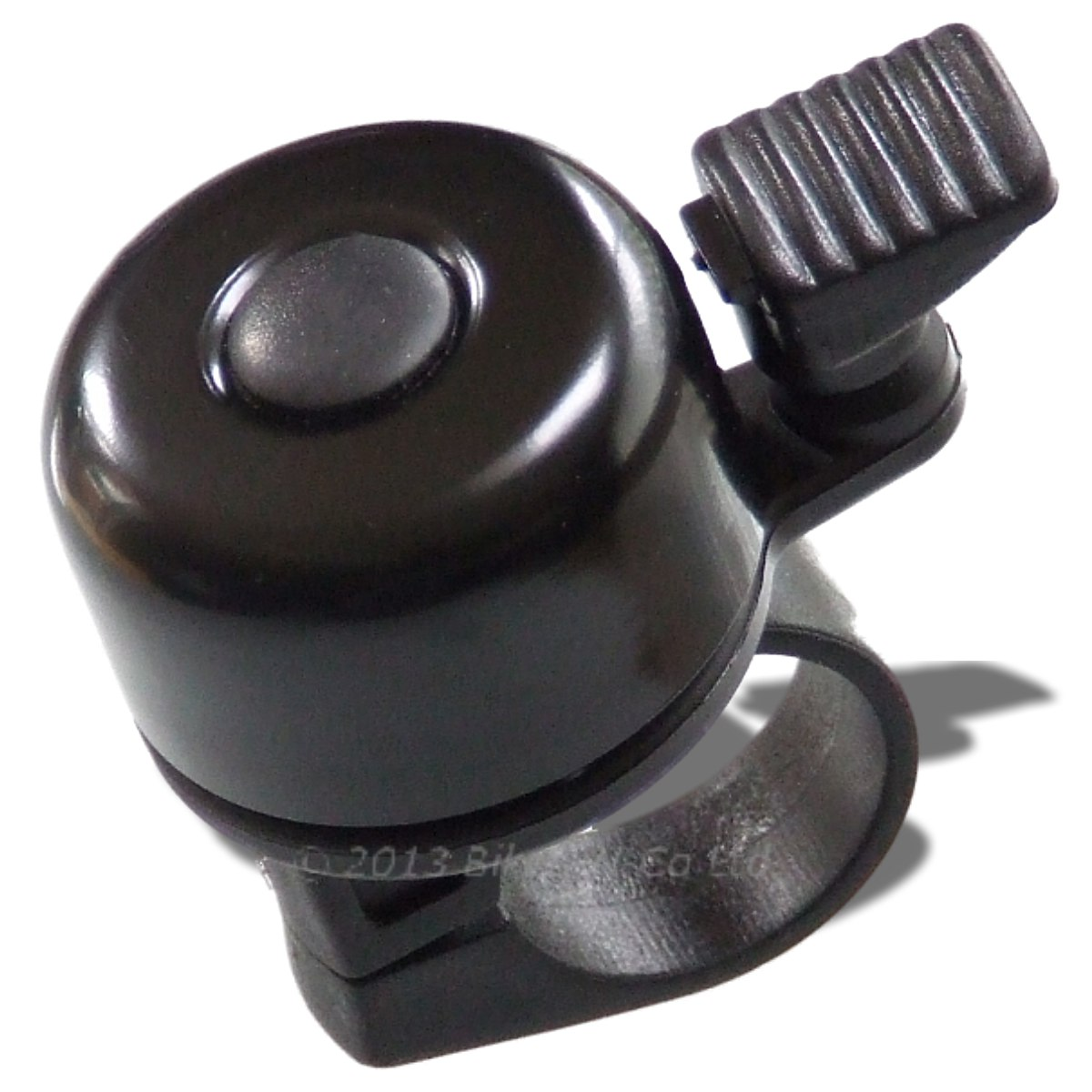 Flick Bell - Lightweight Ting Bell, Black Or Silver