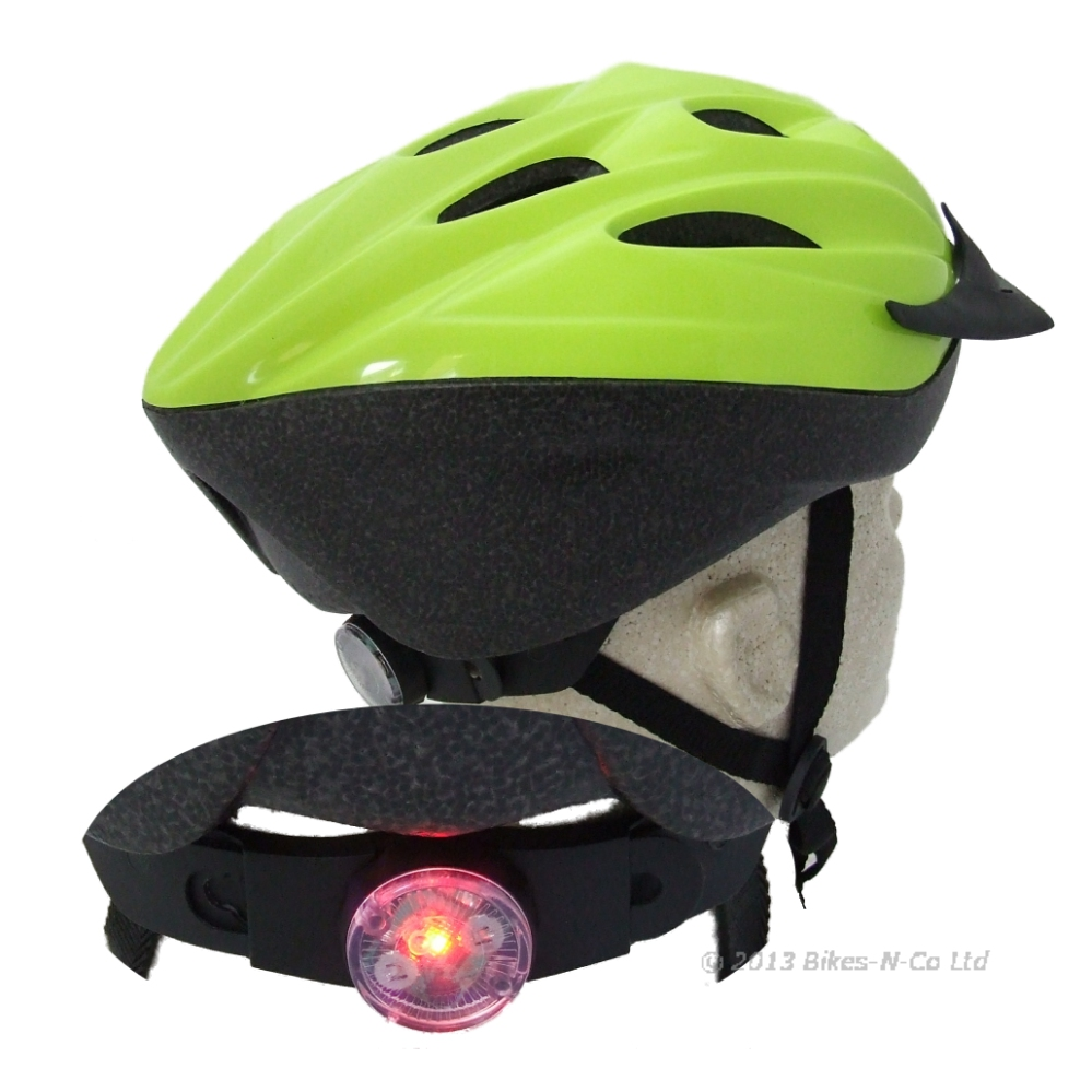 Alpha+ Bike Helmet With Built In LED Rear Light