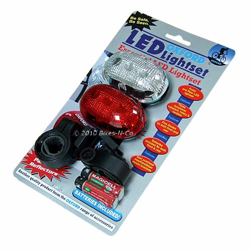 5 LED Bike Light Set from Oxford Products